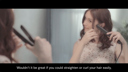 Panasonic Hair Iron How to use