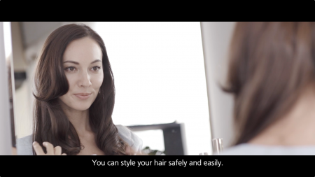 Panasonic Hair Iron HT40 Product Introduction